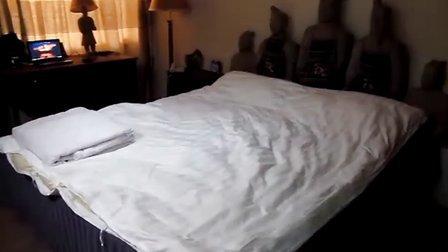 """""""去哪儿酒店试睡员""""试睡西安的""""兵马俑酒店公寓"""""""