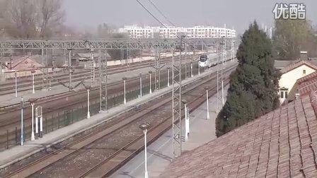 京广线高碑店站通过列车集锦