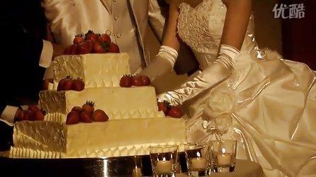 切婚礼大蛋糕