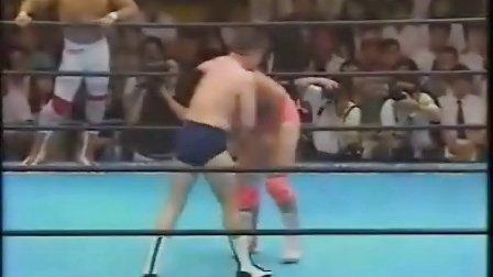 1992.07.21-Taue,Fuchi,Ogawa vs Misawa,Kobashi,Kiku