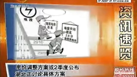 湖北电视台综合频道新闻360《天气预报》