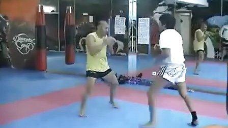 【侯韧杰  Muay Thai  教学篇】之 希腊光头训练节奏