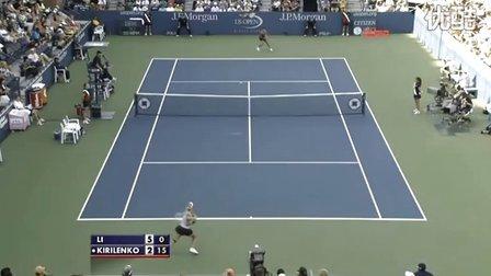 2009美国网球公开赛女单R3 李娜VS基里连科 (自制HL)