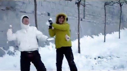 长城脚下的雪战