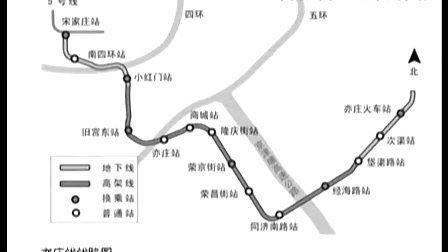 探秘北京新开通地铁线路