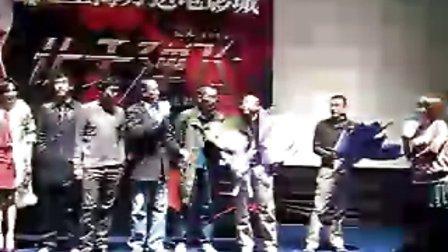 电影  让子弹飞  上海万达影城首映见面会视频 1