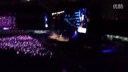 周杰倫2013魔天倫世界巡迴演唱會福州站開場