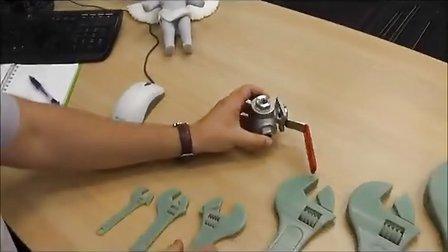 3D打印机打印扳手