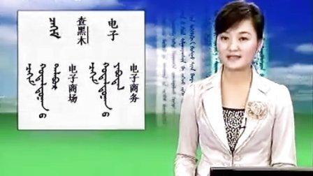 蒙古语标准音_第64课电脑信息