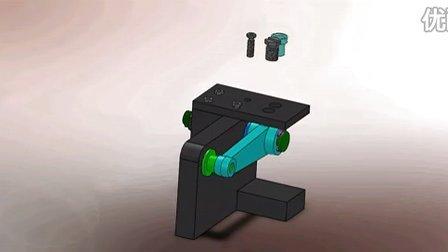 SolidWorks基础教程应用实例作品-钻床夹具