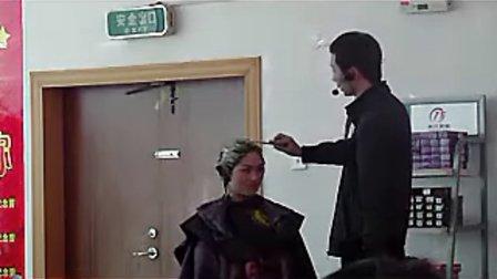2010年11月蒋政老师色彩风暴课程3 蒋政染发调配方法和多段发色