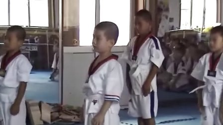 2010年乡宁县小英雄跆拳道暑期考级