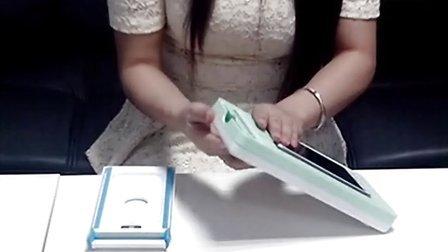 智能手机屏幕通用贴膜器 万能贴膜器 自动贴膜工具 操作方式