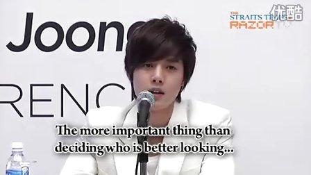 20101203 Kim Hyun Joong TFS Press Con P5 (Razor TV