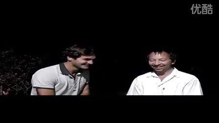 2007年费德勒和瑞士著名音乐人拍宣传短片笑翻天