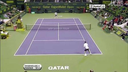 ATP.2011.Doha.2R.Chiudinellil.vs.Federer HL