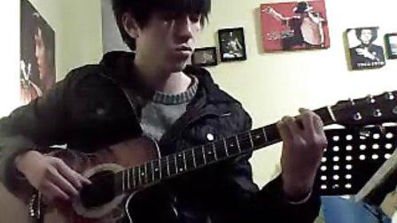 指弹吉他〈卡农〉焦作滚石琴行吉他培训教室