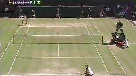 2004温网女单决赛 莎拉波娃VS小威廉姆斯 (自制HL)