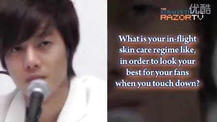 20101203 Kim Hyun Joong TFS Press Con P2 (Razor TV