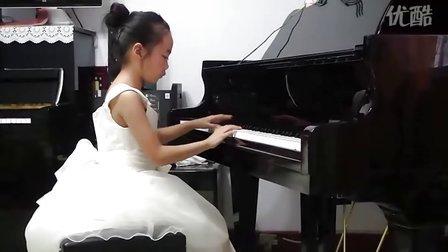 张晓国钢琴教学中心(承德)李月萌-3级-康定情歌