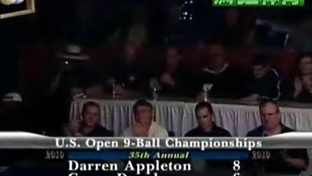 2010 US Open Final Darren Appleton vs Corey Deuel