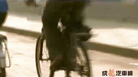 北京大学自行车团队向半车活动致敬