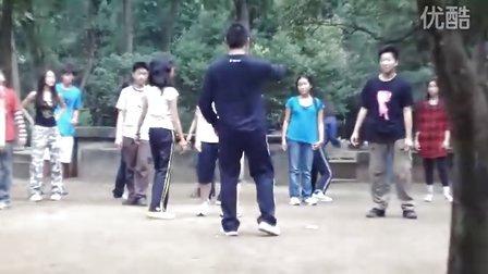 Master Henry teaching Tai chi application