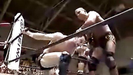 2010.09.24 新日本摔角 真壁,Prince,田口 vs 田中,邪道,外道