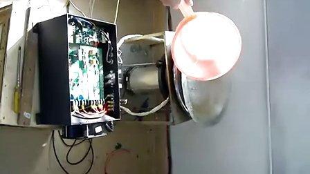 爱电数字节能电磁炉的抛锅淋水视频