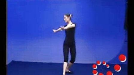 形体礼仪培训视频之腰部柔韧性的练习