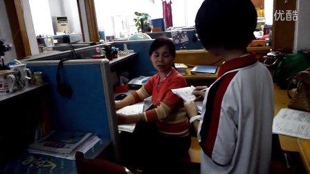 佛山南庄三中Ipad班学习采访老师视频