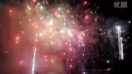 北京理工大学70周年校庆焰火表演