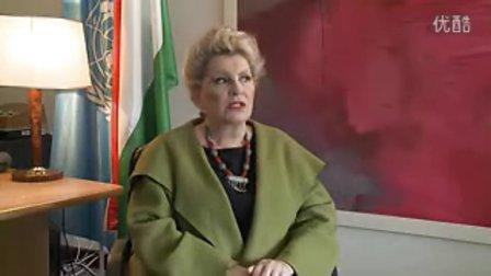 大会主席匈牙利人Katalin Bogyay过去两年的工作体会