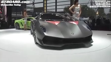 兰博基尼新车Sesto Elemento 360度超详写真!