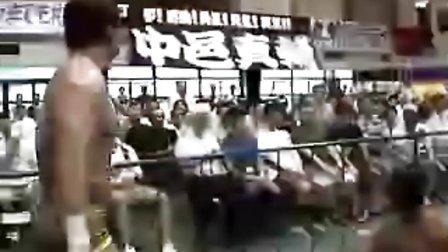 2010.09.19 新日本摔角 金本浩二 vs 三上恭佑