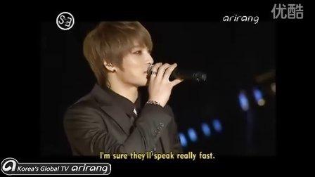 101227 EntertainmentFirst_JYJ CON_[ArirangTV] 在天秀