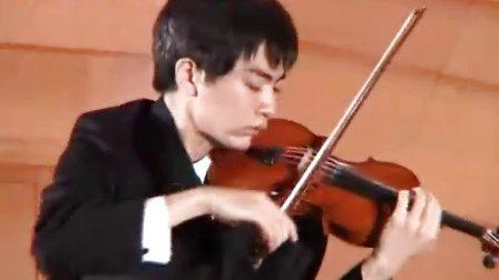 思乡曲 第九届全国青少年 小提琴比赛 张可函