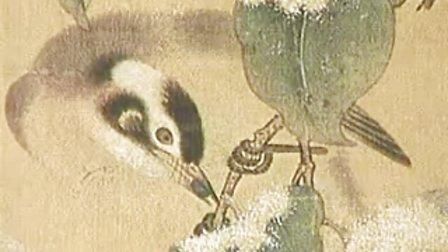 诗情画意27细腻逼真,形神兼备王定国《雪景寒禽图》赏析