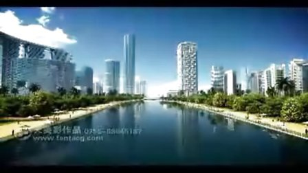 天美影作品-迪拜建筑大厦三维动画宣传片