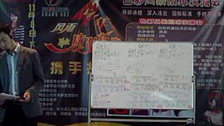2010年11月蒋政老师色彩风暴课程10 蒋政染发调配方法和多段发色