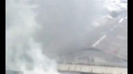云南保山市隆阳区发生严重火灾