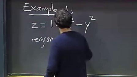 [多变量微积分:二重积分].Lecture.16
