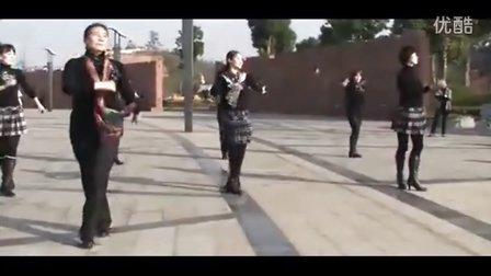 广场舞教学 心在跳情在烧