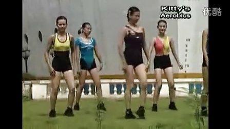 广场舞教学 恰恰健身操