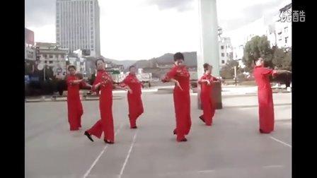 广场舞教学 吉祥如意