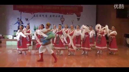 广场舞教学 心中的歌儿献给亲人解放军