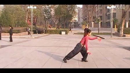 广场舞教学 大中国竹板舞