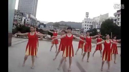 广场舞教学 风雨斜阳