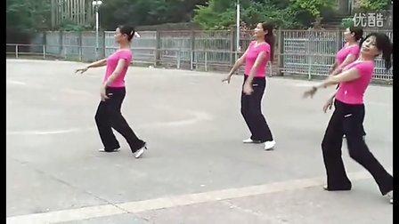 广场舞教学 姑娘我爱你