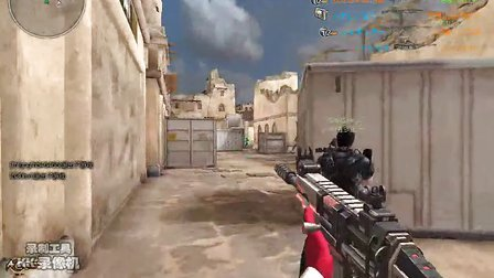 逆战娱乐解说 新枪上手朱雀-SCAR试用 新图试玩
